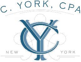 C York CPA Company Logo by C York CPA in New York NY