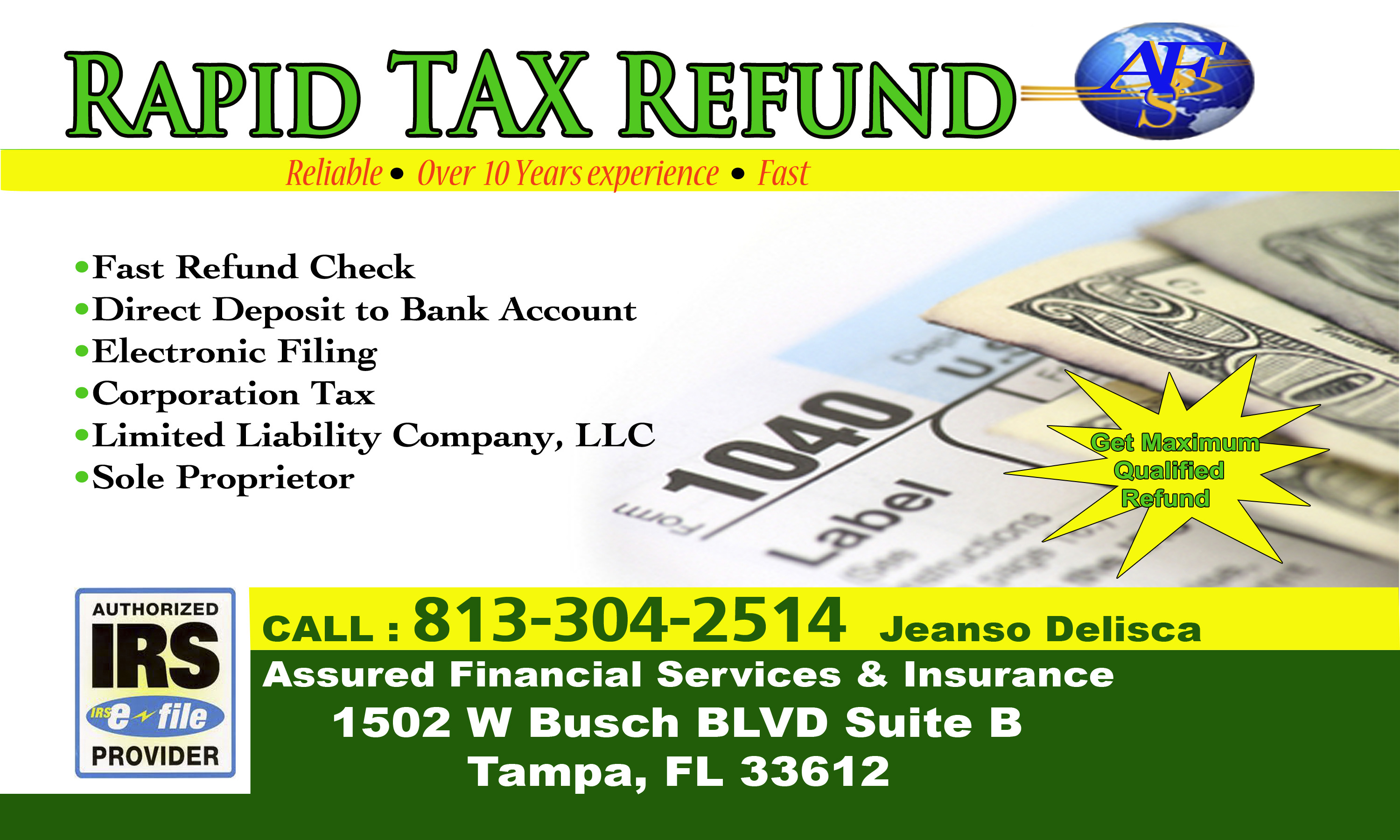 how to become a tax preparer in florida