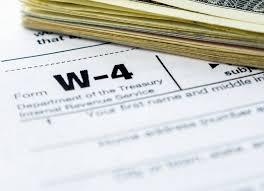 IRS Releases W-4 2020 Draft