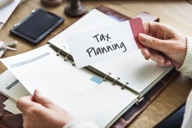 How do you plan for your taxes?