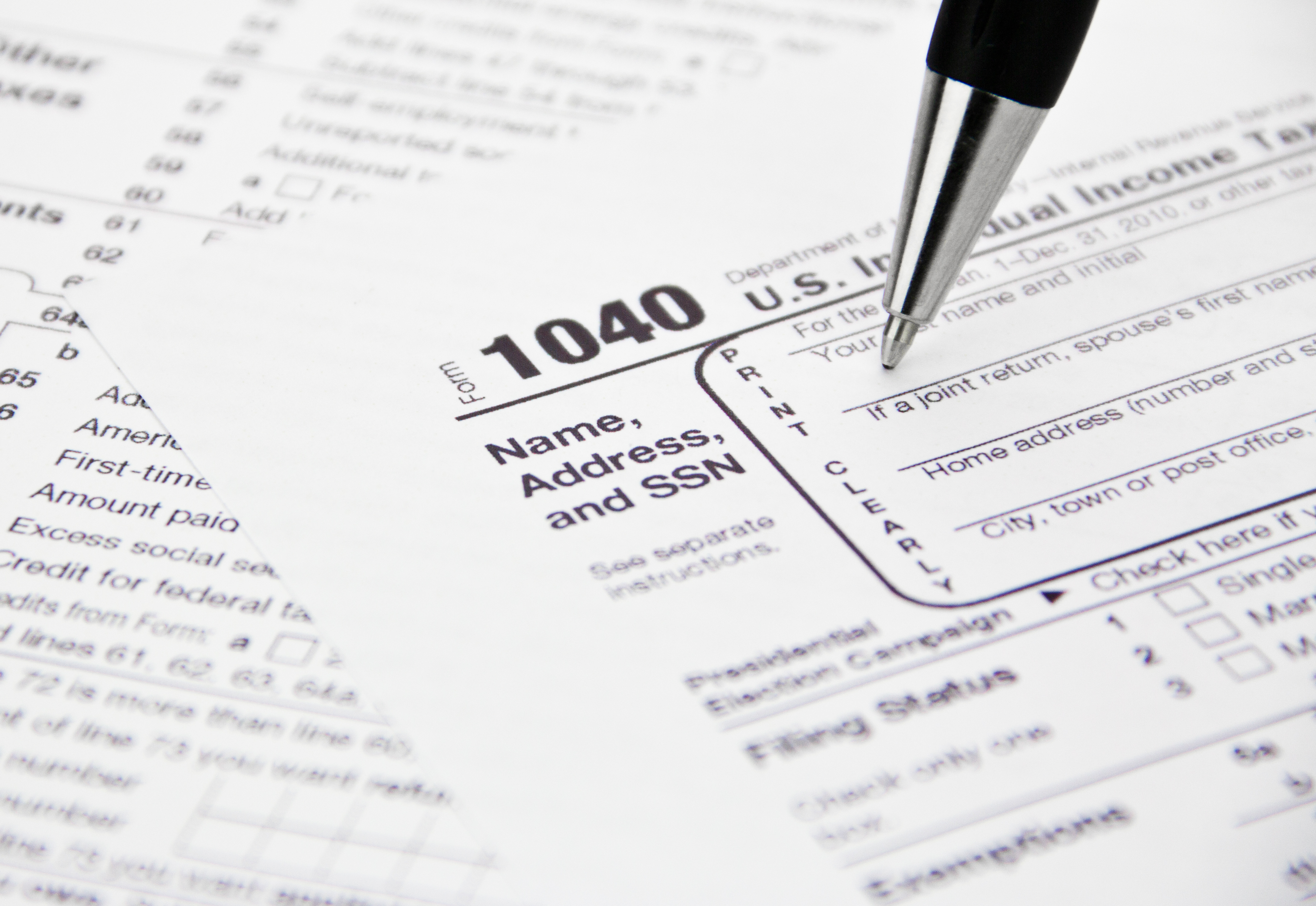 Your One Stop Guide to Tax Form 1040