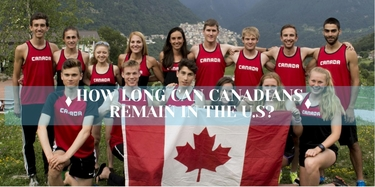 How long can Canadians Remain in the U.S?