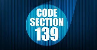 Get To Know Section 139