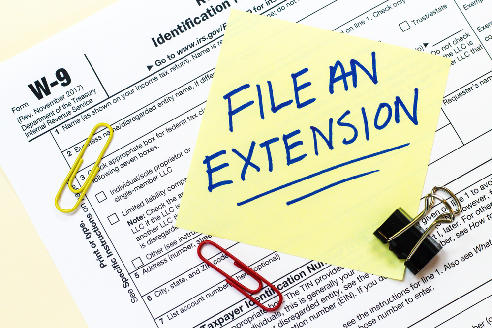 How To File A Tax Extension Tax Professionals Member