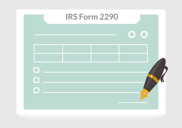 Information about the Form 2290