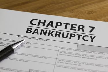 Types of Bankruptcy and How to Deal with it