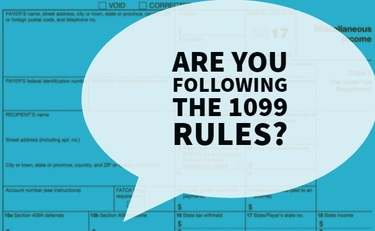 Common Mistakes on 1099 Rules