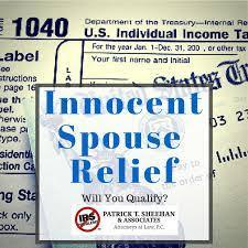 The IRS Innocent Spouse Rule