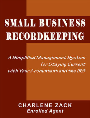 Small Business Record-Keeping by Charlene Zack